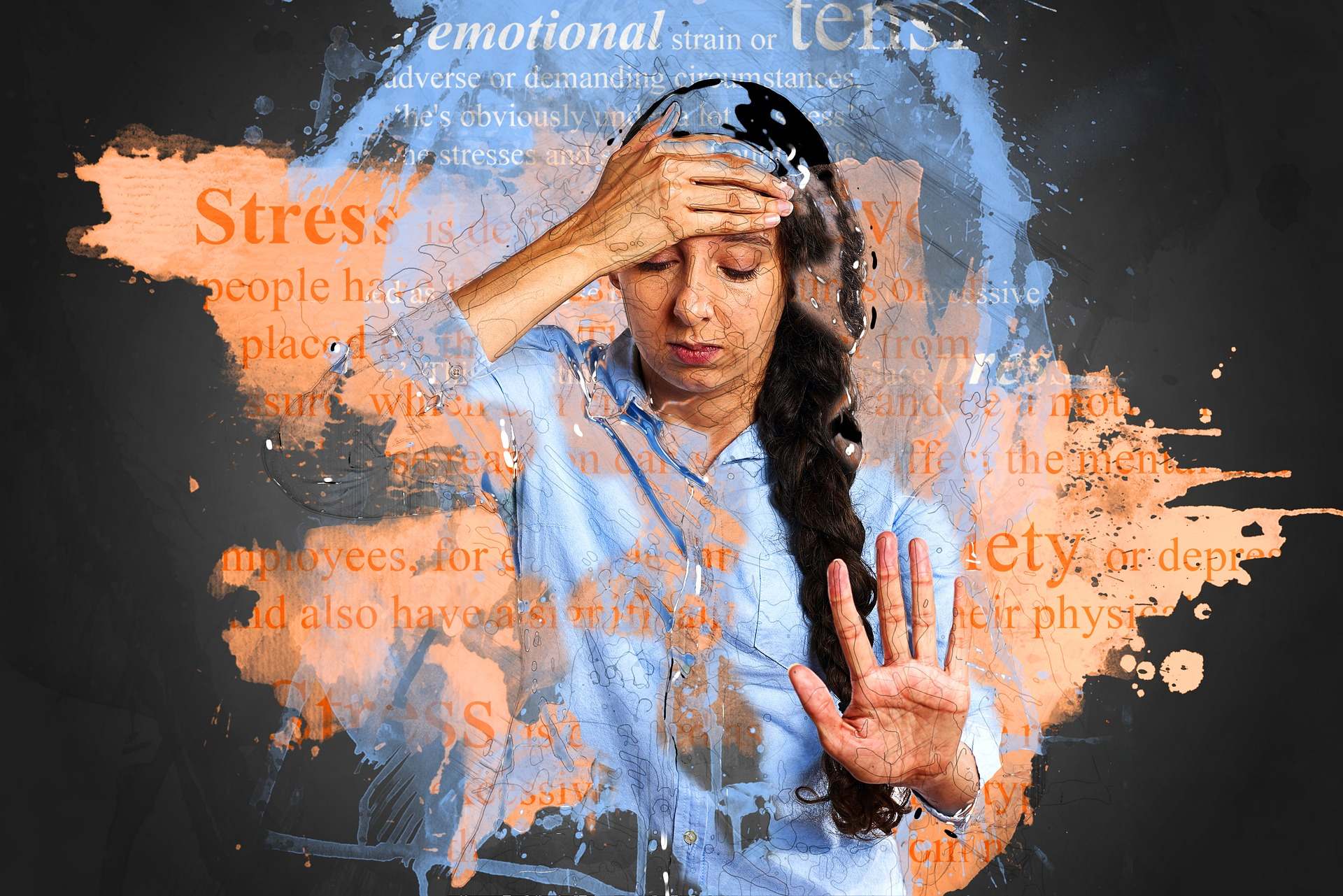 リウマチを治す障害となるストレス